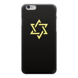 """Чехол для iPhone 6 """"Звезда Давида"""" - звезда, звезда давида, magen david, еврейская звезда"""