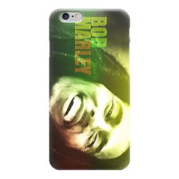 "Чехол для iPhone 6 ""боб марли"" - музыка, боб марли, bob marley, боб"