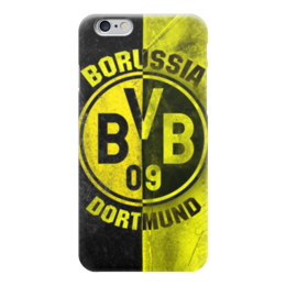 "Чехол для iPhone 6 ""Боруссия Дортмунд"" - боруссия, bvb, borussia"
