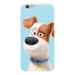 """Чехол для iPhone 6 """"Макс (Max)"""" - max, макс, тайная жизнь домашних животных, the secret life of pets"""
