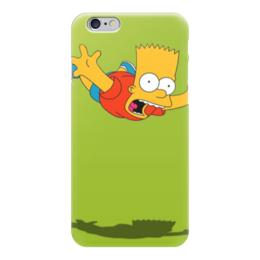 "Чехол для iPhone 6 ""симпсоны"" - мультфильмы, симпсоны, the simpsons, bart simpson, барт симпсон"