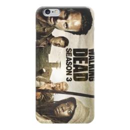 "Чехол для iPhone 6 глянцевый ""ходячие мертвецы"" - зомби, сериалы, фильмы, ходячие мертвецы"