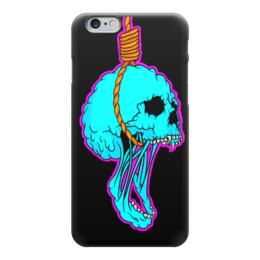 """Чехол для iPhone 6 """"Noose Skull"""" - skull, череп, петля, удавка, noose"""