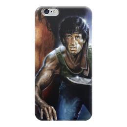 "Чехол для iPhone 6 ""Рэмбо (Rambo)"" - рэмбо, сильвестр сталлоне, rambo, джон рэмбо"