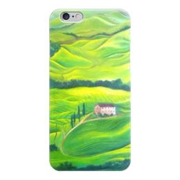 """Чехол для iPhone 6 """"Тоскана"""" - италия, деревья, зеленый, трава"""
