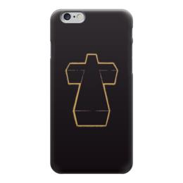 "Чехол для iPhone 6 ""Justice"" - музыка, арт, крест"