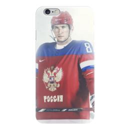 """Чехол для iPhone 6 """"Александр Овечкин"""" - овечкин, вашингтон, сборная россия по хоккею"""