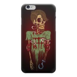 "Чехол для iPhone 6 ""Skeleton Art"" - skull, череп, skeleton, скелет, арт дизайн"