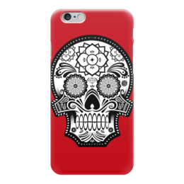 "Чехол для iPhone 6 ""Santa Muerte skull"" - skull, череп, мексика, mexico, санта муерта"