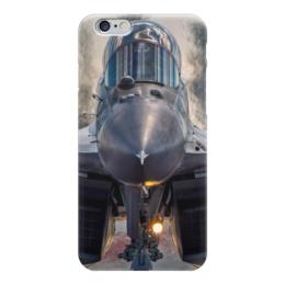"""Чехол для iPhone 6 """"Истребитель Миг"""" - война, самолет, миг"""