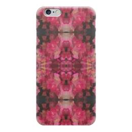 """Чехол для iPhone 6 """"Рубиновое сердце"""" - бордовый, черный, розовый"""