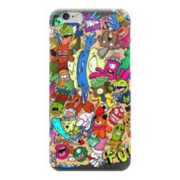 "Чехол для iPhone 6 ""Doodle: Весело!"" - весело, монстры, doodle, каракули"