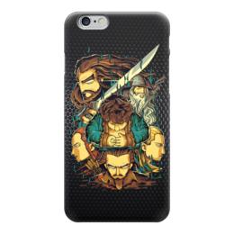 """Чехол для iPhone 6 глянцевый """"Хоббит (The Hobbit)"""" - хоббит, hobbit"""