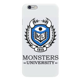 """Чехол для iPhone 6 """"Monsters University"""" - мультфильм, кино, cinema, университет монстров, monsters university"""