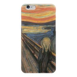 """Чехол для iPhone 6 """"Эдвард Мунк, Крик"""" - эдвард мунк, edvard munch, the scream, экспрессионизм"""