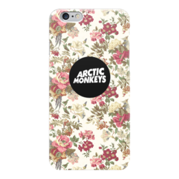 "Чехол для iPhone 6 глянцевый ""Arctic Monkeys"" - цветы, band, rock, flowers, pop, indie, arctic monkeys, alex turner, арктик манкис"