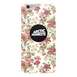 """Чехол для iPhone 6 глянцевый """"Arctic Monkeys"""" - цветы, band, rock, flowers, pop, indie, arctic monkeys, alex turner, арктик манкис"""