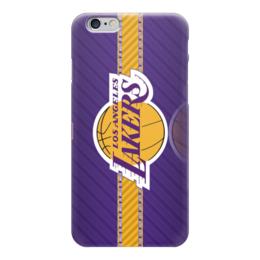 "Чехол для iPhone 6 ""Los Angeles Lakers (Лос-Анджелес Лейкерс)"" - los angeles lakers, лос-анджелес лейкерс"