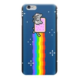 """Чехол для iPhone 6 """"Для тех, кто в этой теме"""" - кошка, рисунок, графика, пиксель, секс меньшинства"""