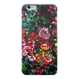 """Чехол для iPhone 6 """"Розовый куст"""" - любовь, весна, красота, подарок, розы"""