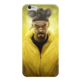 "Чехол для iPhone 6 ""Во все тяжкие (Breaking Bad)"" - во все тяжкие, breaking bad, гейзенберг, уолтер уайт"