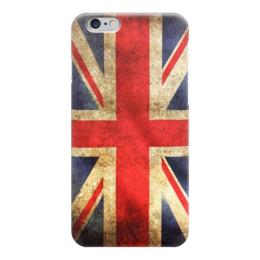 "Чехол для iPhone 6 глянцевый ""Английский флаг"" - великобритания, англия, uk, union jack, флаг"
