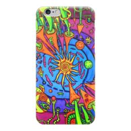 """Чехол для iPhone 6 """"ЛСД трип"""" - психоделия, лсд, грибы, shrooms"""