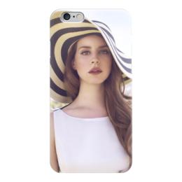 """Чехол для iPhone 6 """"Лана Дель Рей"""" - lana del rey, лана дель рей"""