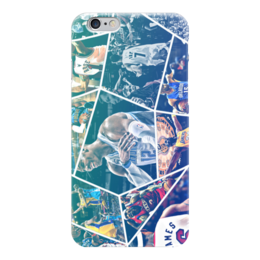 "Чехол для iPhone 6 ""Звезды НБА (NBA Stars)"" - nba, нба, streetball"