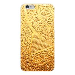 """Чехол для iPhone 6 """"Золотой узор"""" - арт, узор, золото, искуство, чеканка"""