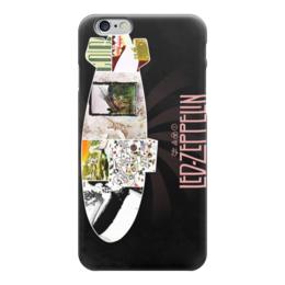 """Чехол для iPhone 6 глянцевый """"Led Zeppelin"""" - led zeppelin"""