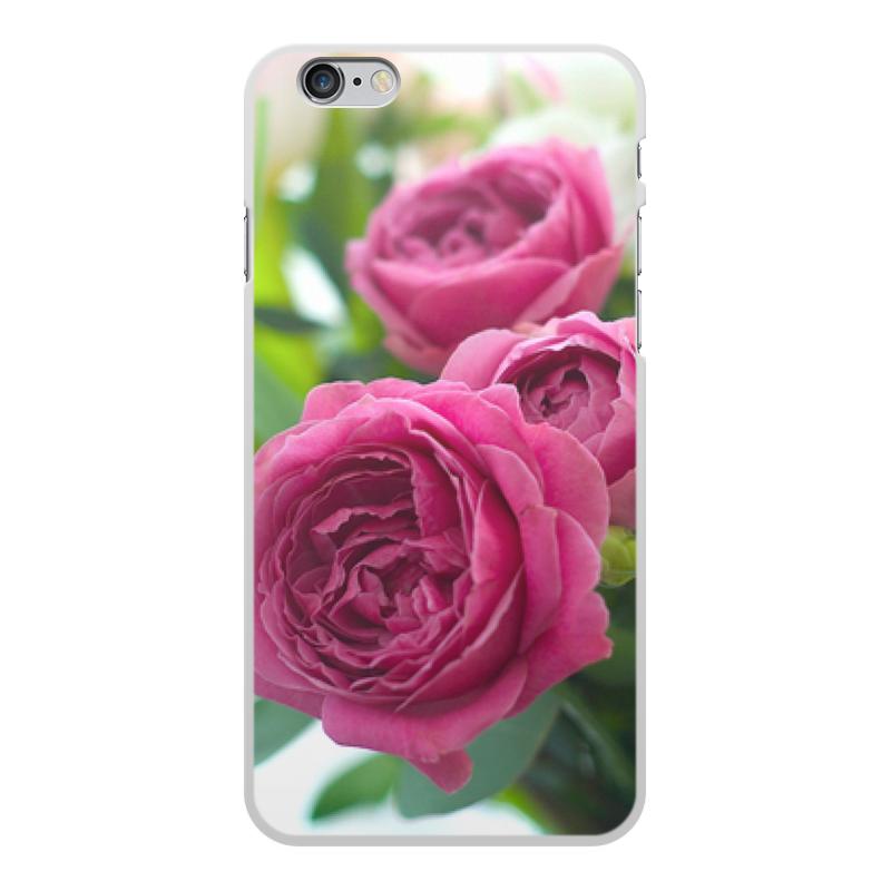 лучшая цена Чехол для iPhone 6 Plus, объёмная печать Printio Розовые розы