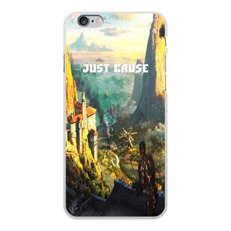 Чехол для iPhone 6 Plus, объёмная печать Printio Just cause zhiyusun 68015e 020 touch screen sensor glass 164 127 6 5 inch industrial use 8line 164mm 127mm