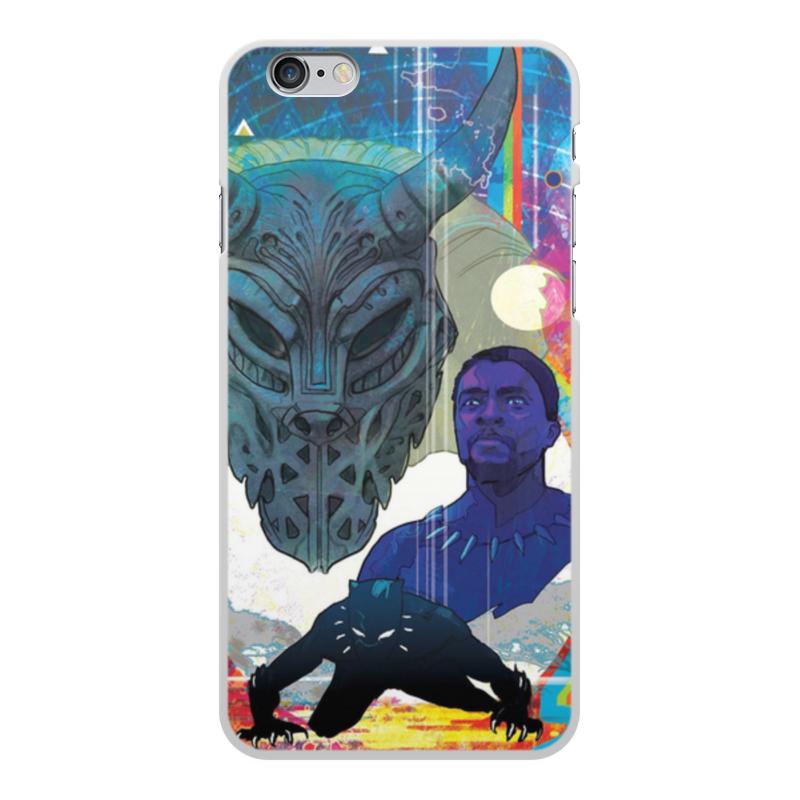 Чехол для iPhone 6 Plus, объёмная печать Printio Черная пантера