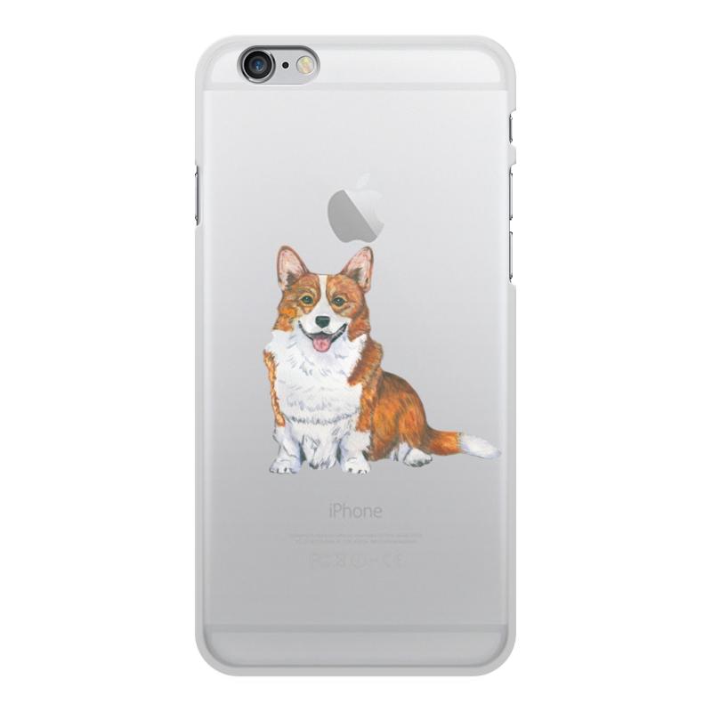 Чехол для iPhone 6 Plus, объёмная печать Printio Моя любимая собака esr oppo r9s plus чехол чехол all in one прозрачный силиконовый защитный чехол мягкий чехол первичный цветной гель red для oppo r9s plus