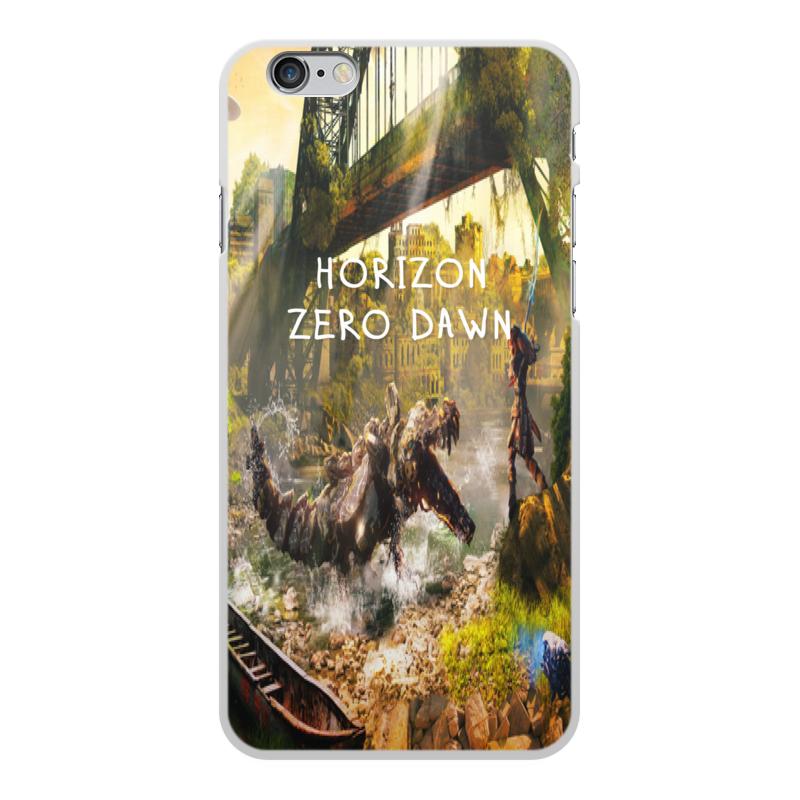 Чехол для iPhone 6 Plus, объёмная печать Printio Horizon zero dawn