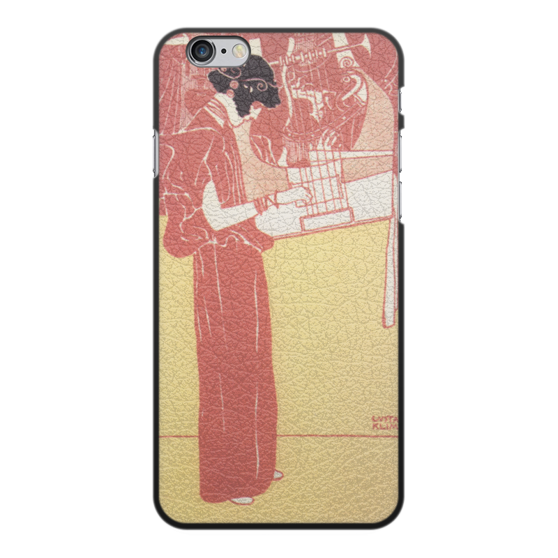 все цены на Чехол для iPhone 6 Plus, объёмная печать Printio Музыка (густав климт)