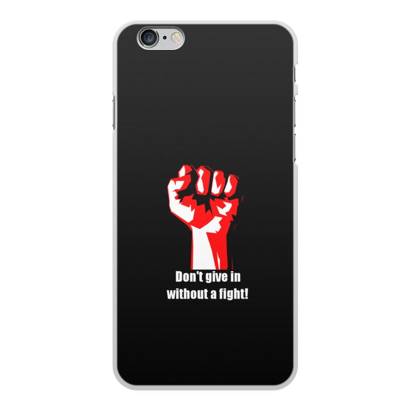 Чехол для iPhone 6 Plus, объёмная печать Printio Битва. драка. fight. бойцовский клуб