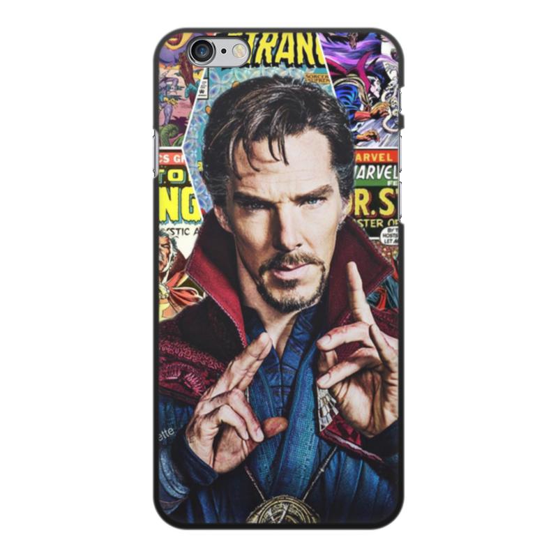 Чехол для iPhone 6 Plus, объёмная печать Printio Marvel