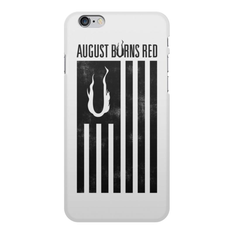 Чехол для iPhone 6 Plus, объёмная печать Printio August burns red аксессуар чехол cg mobile ferrari f12 flip для iphone 6 red fef12flp6re