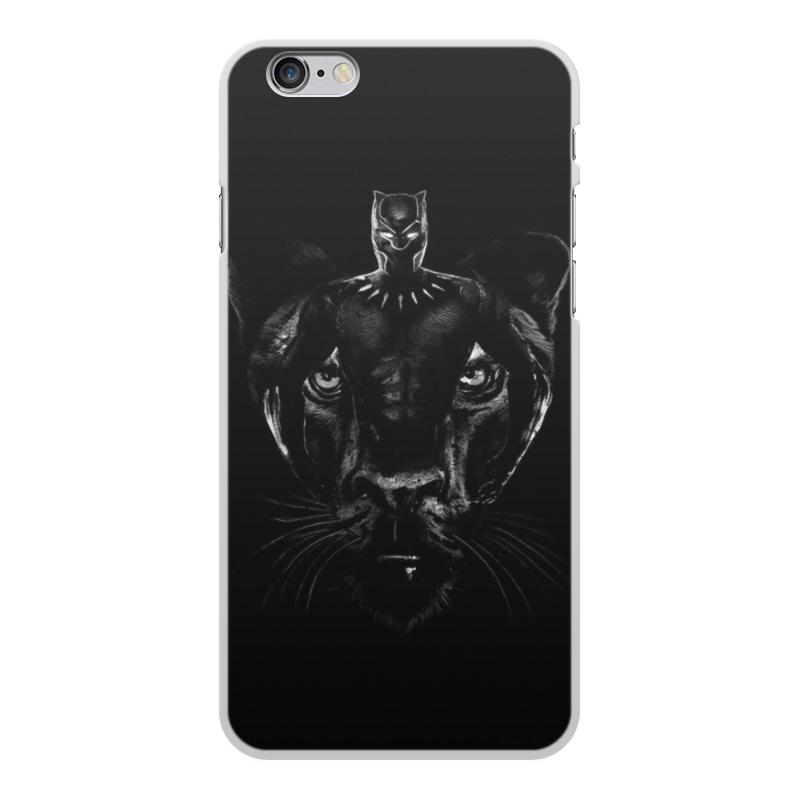 Чехол для iPhone 6 Plus, объёмная печать Printio Черная пантера чехол для iphone 6 plus глянцевый printio япония минимализм