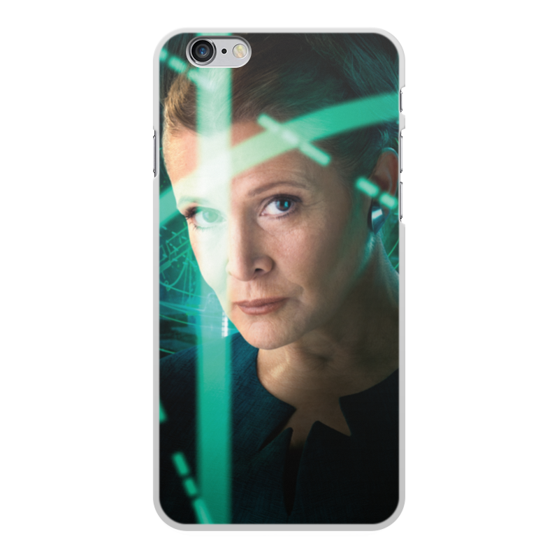Чехол для iPhone 6 Plus, объёмная печать Printio Звездные войны - лея чехол для iphone 6 plus глянцевый printio блокнот ля шобы поделат