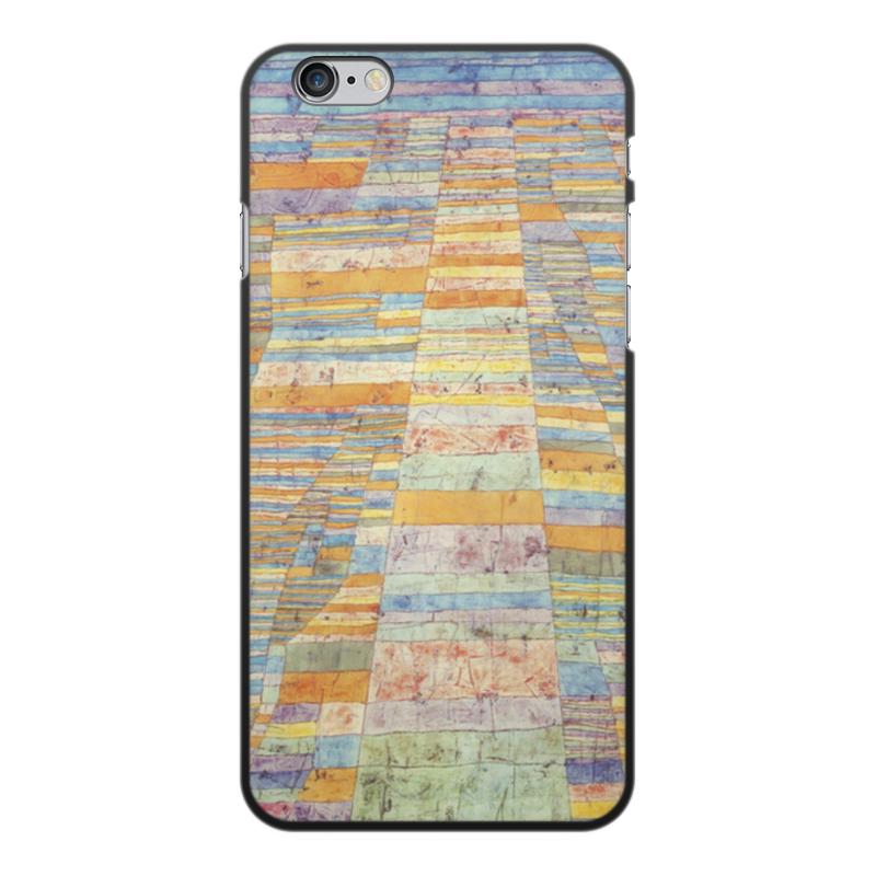 Чехол для iPhone 6 Plus, объёмная печать Printio Шоссе и переулки (пауль клее) paul klee paul klee
