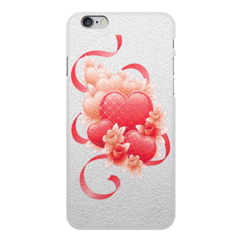 Чехол для iPhone 6 Plus, объёмная печать Printio Любимой на 14 февраля чехол для iphone 6 plus глянцевый printio япония минимализм