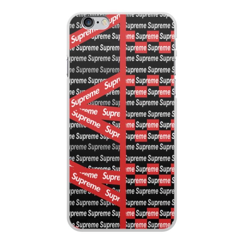 Чехол для iPhone 6 Plus, объёмная печать Printio Supreme аксессуар чехол ipapai для iphone 6 plus ассорти морской