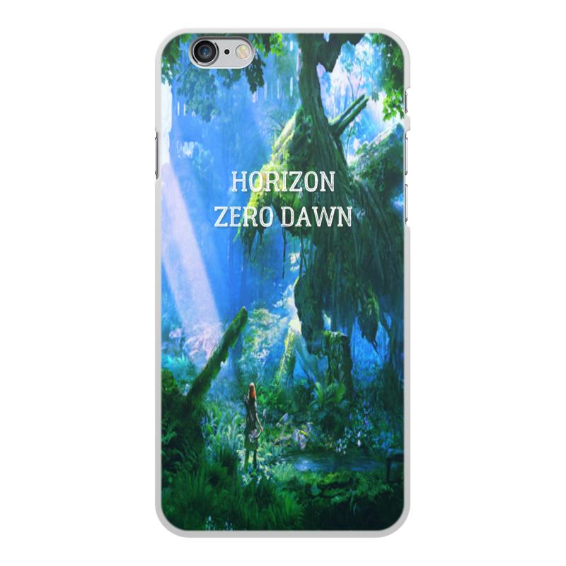 Чехол для iPhone 6 Plus, объёмная печать Printio Horizon zero dawn аксессуар чехол itskins zero deluxe для iphone 6 plus ap65 zrodx wite white
