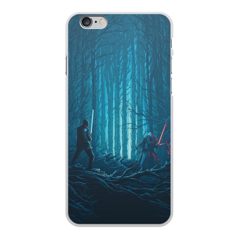 Чехол для iPhone 6 Plus объёмная печать Printio Звездные войны