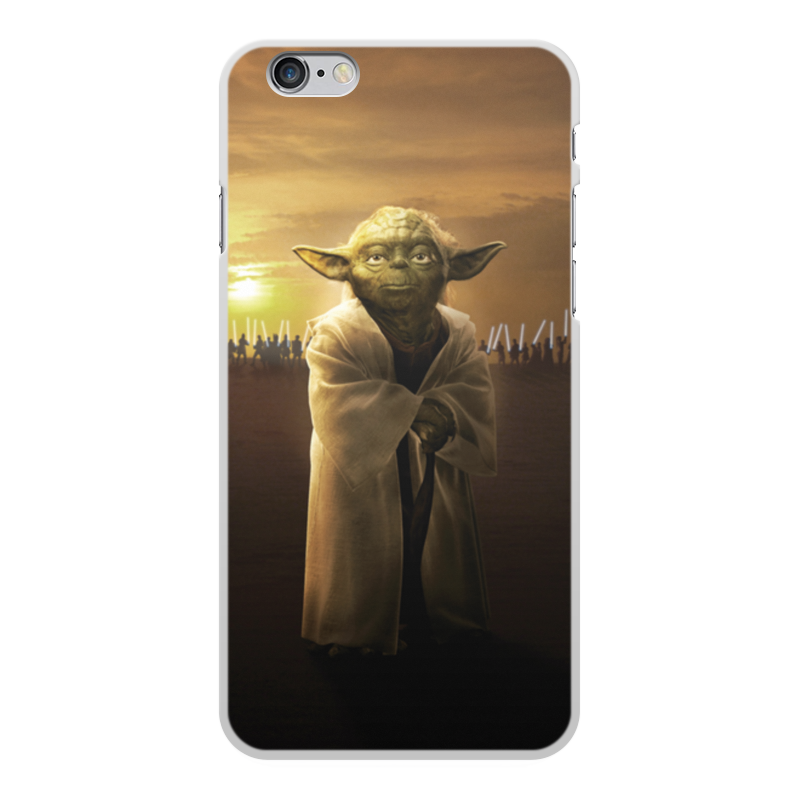Чехол для iPhone 6 Plus, объёмная печать Printio Звездные войны - йода