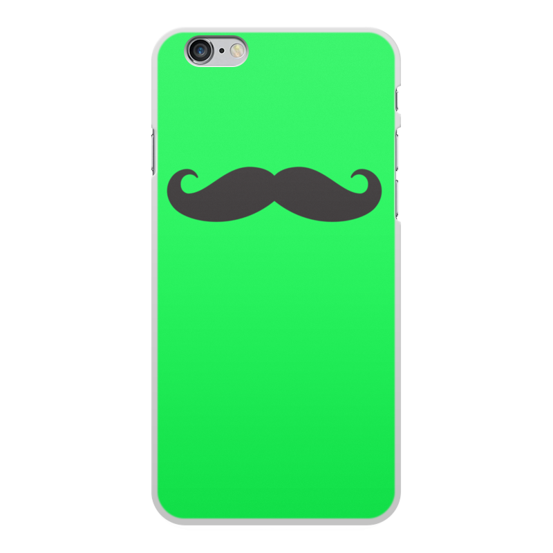 Чехол для iPhone 6 Plus, объёмная печать Printio Усы.. аксессуар чехол ipapai для iphone 6 plus ассорти морской