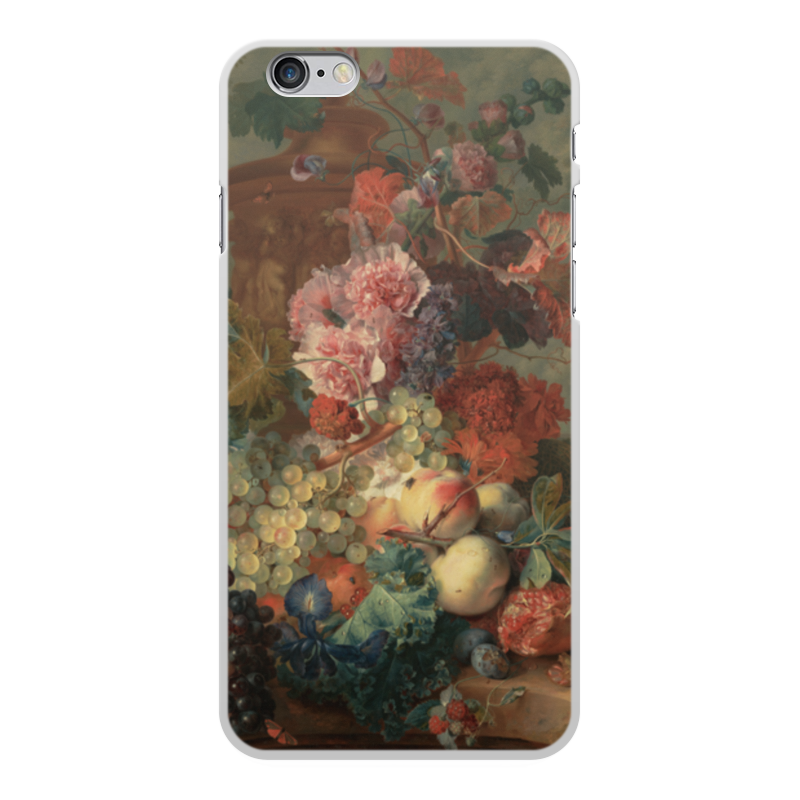 Чехол для iPhone 6 Plus, объёмная печать Printio Цветы (ян ван хёйсум) футболка с полной запечаткой для мальчиков printio цветы ян ван хёйсум